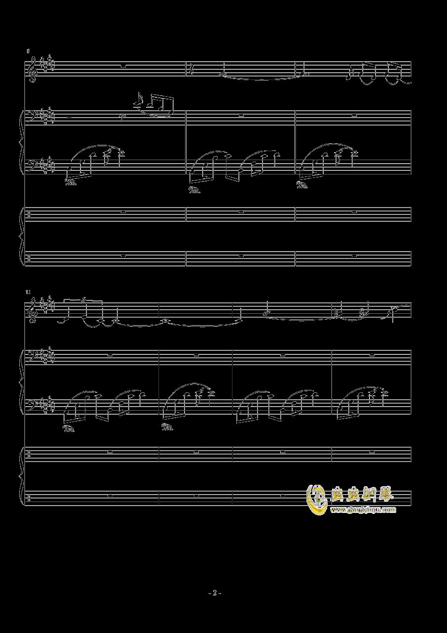Represent - Dj Okawari钢琴谱 第2页