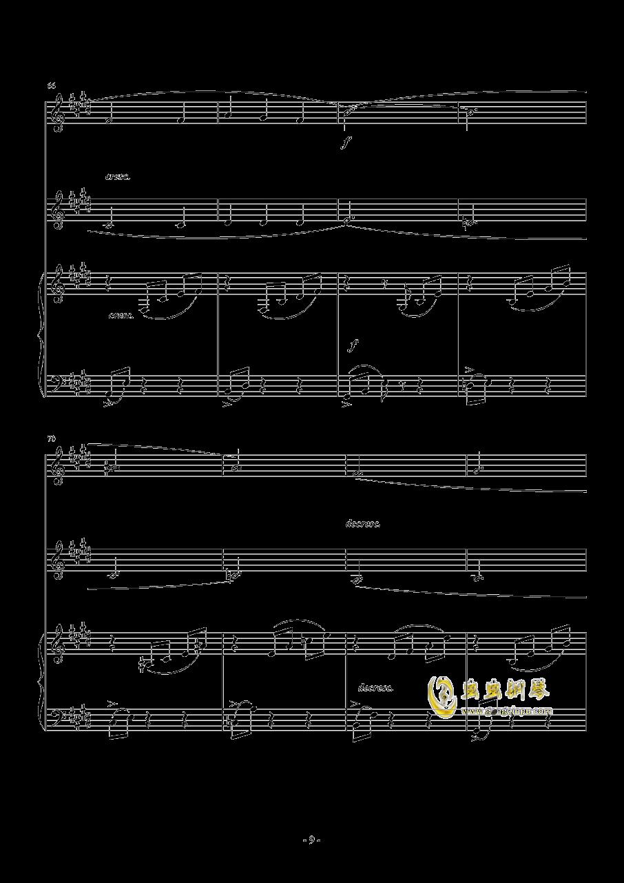 德尔松 钢琴 双声部合唱 总谱,乘着歌声的翅膀 门德尔松 钢琴 双声部