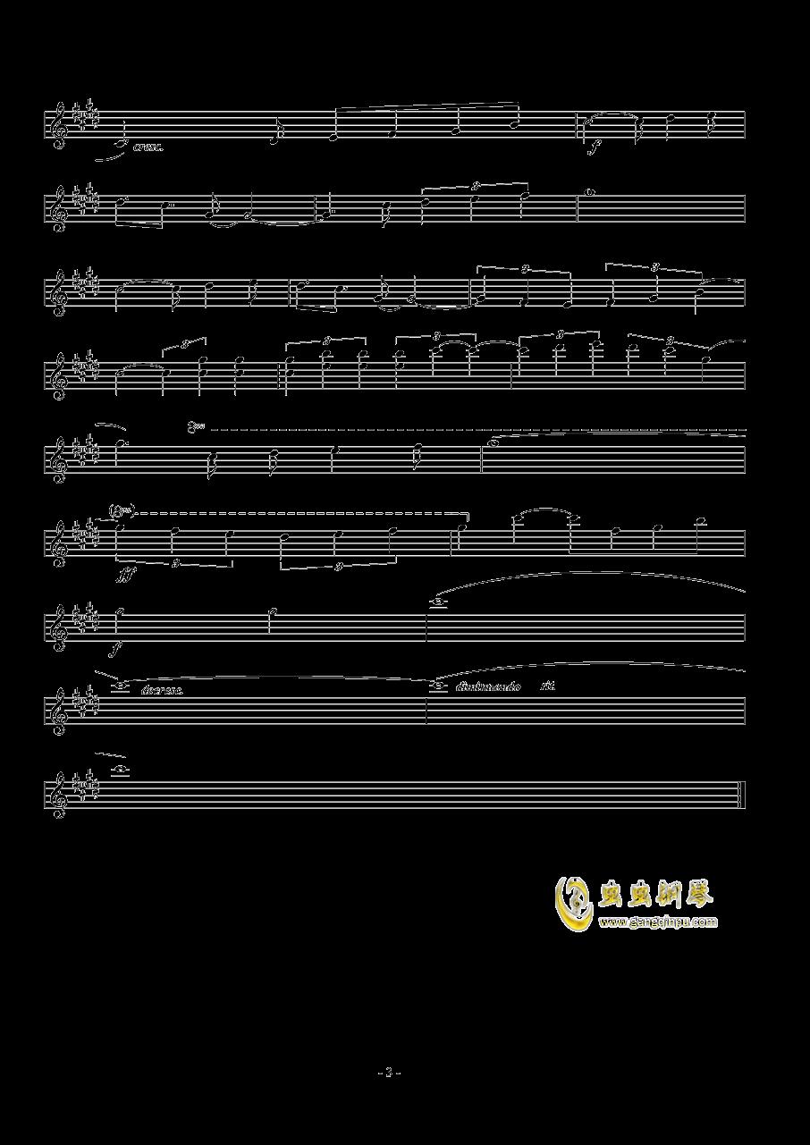 Represent钢琴谱 第3页