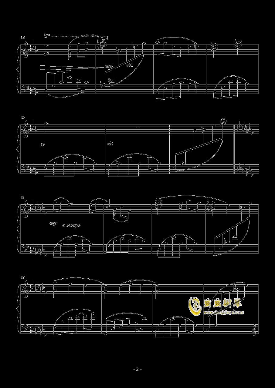 无题10钢琴谱 第2页