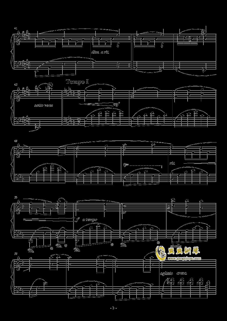 月盈钢琴谱 第3页