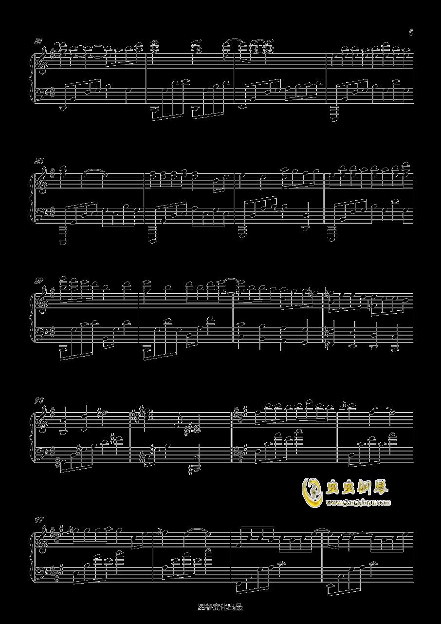 凉凉 三生三世十里桃花 完美钢琴演奏版,凉凉 三生三世十里桃花 完