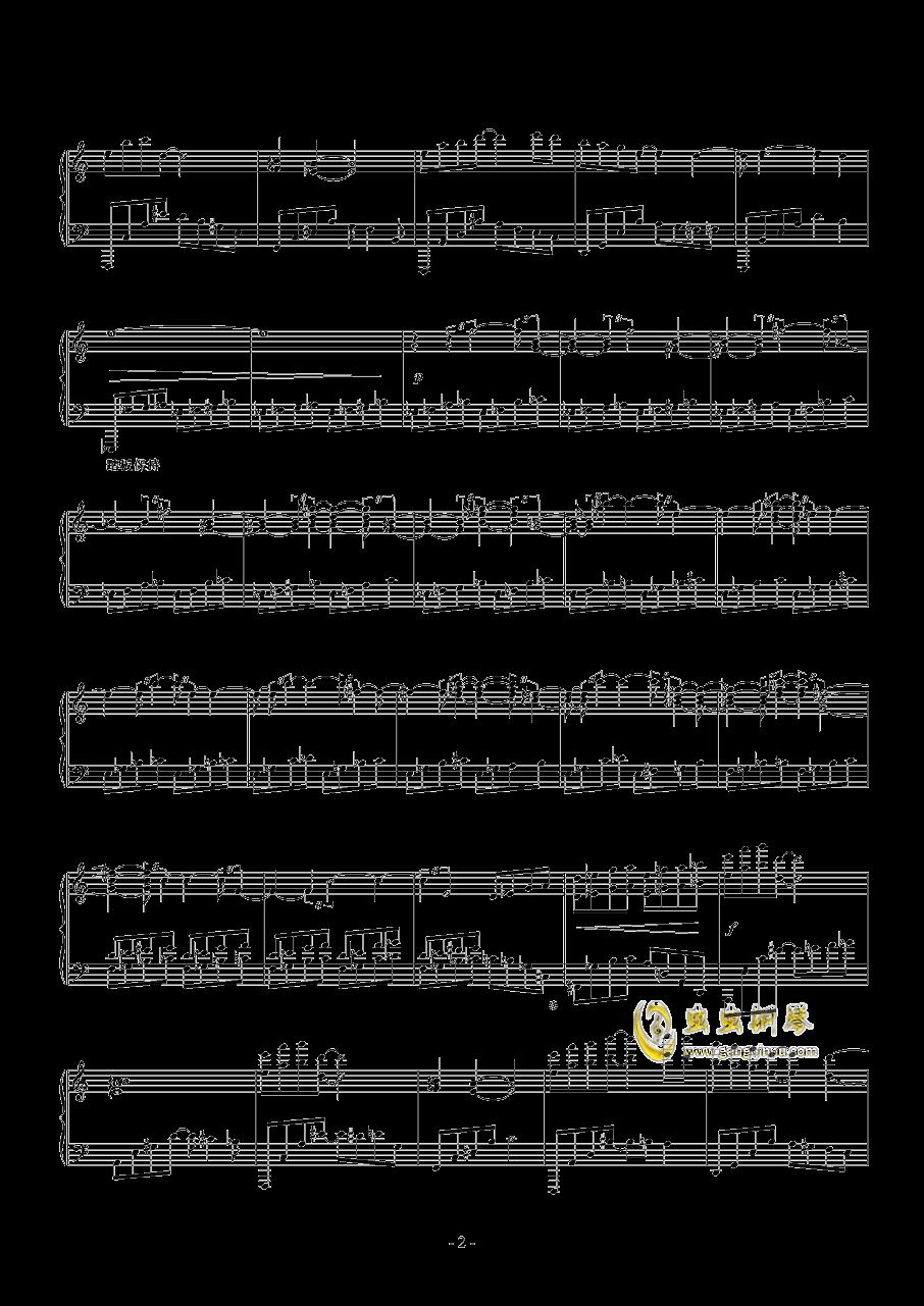 光与暗钢琴谱 第22页