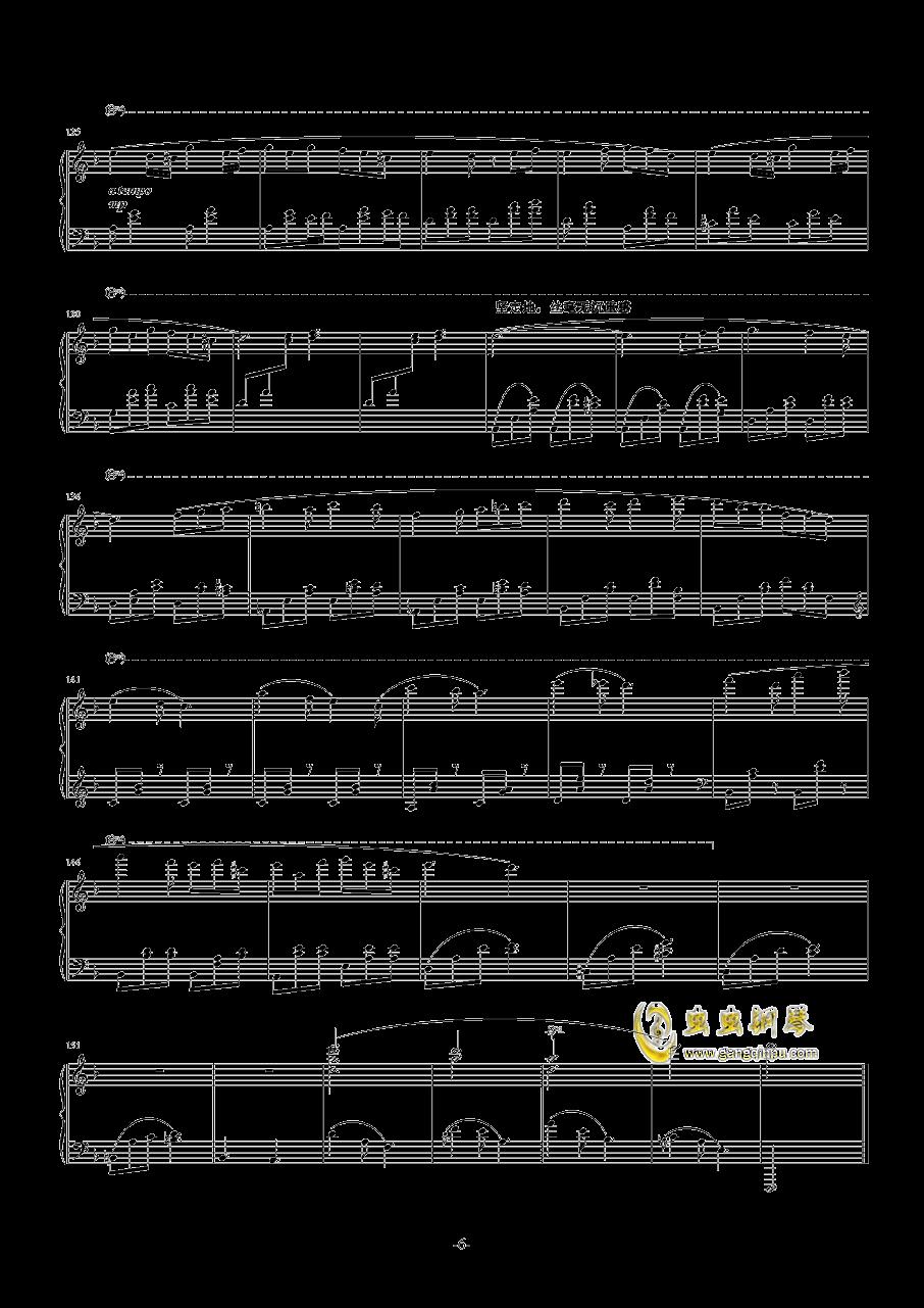 光与暗钢琴谱 第46页