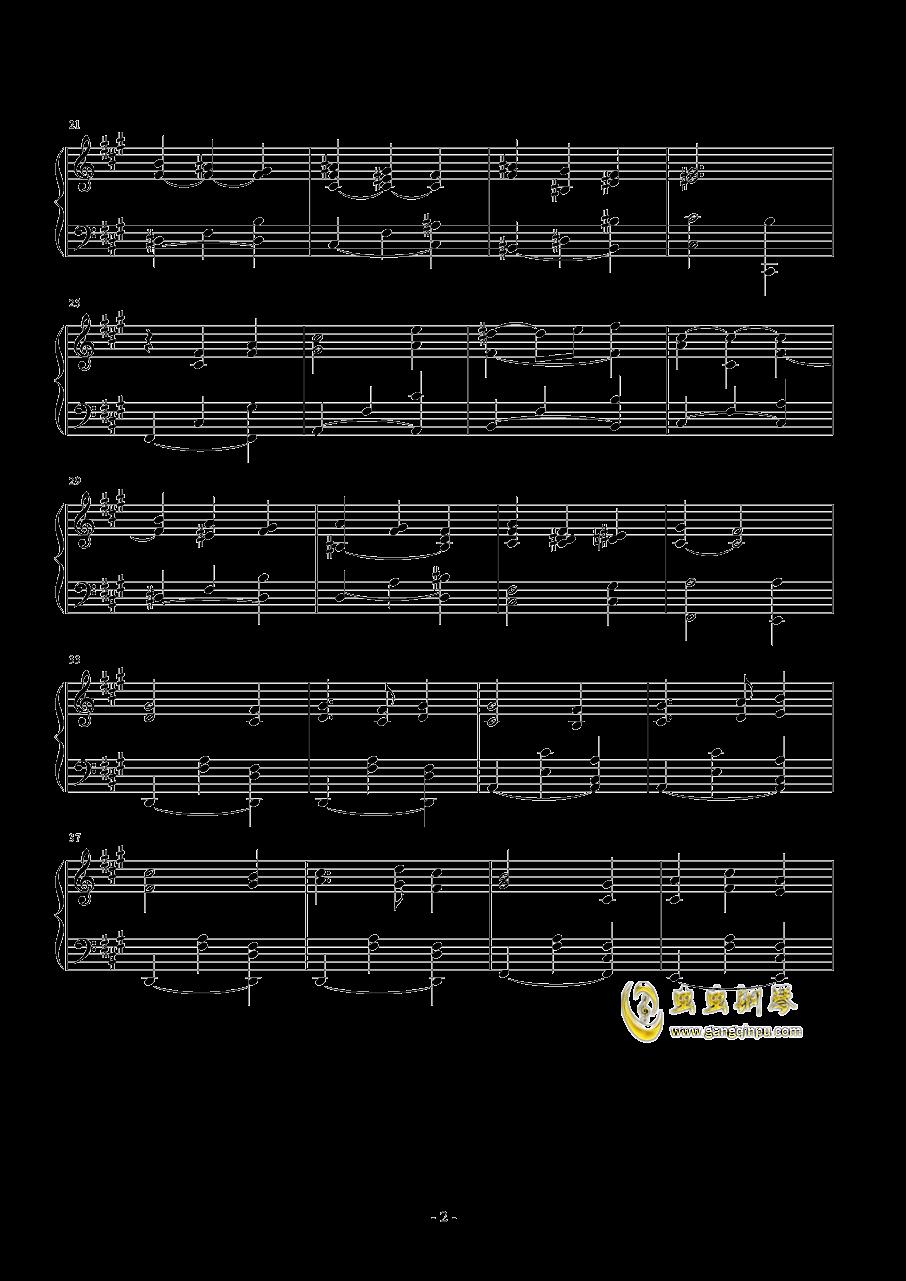 梦中的相遇钢琴谱 第2页