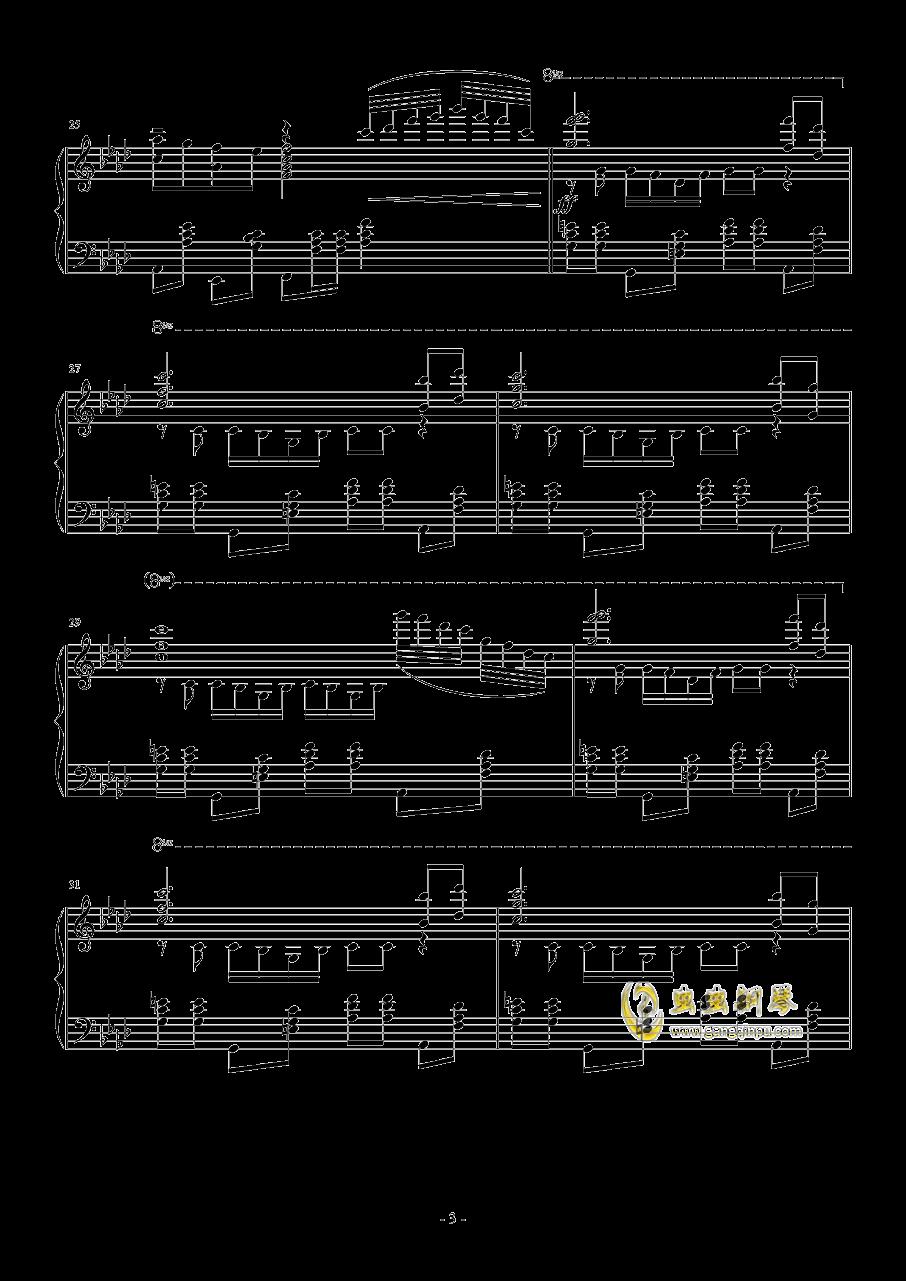 忍者棒棒钢琴谱 第3页