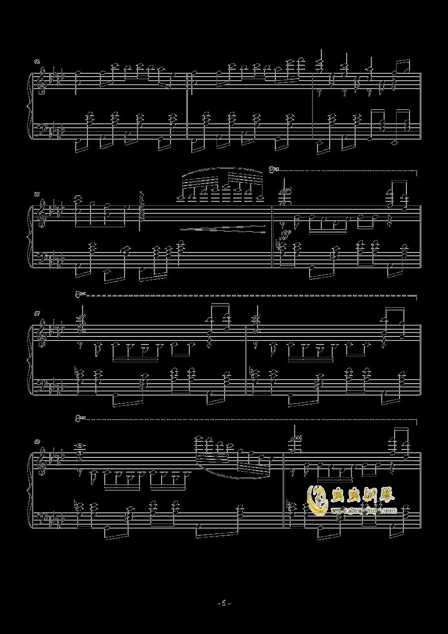忍者棒棒钢琴谱 第6页