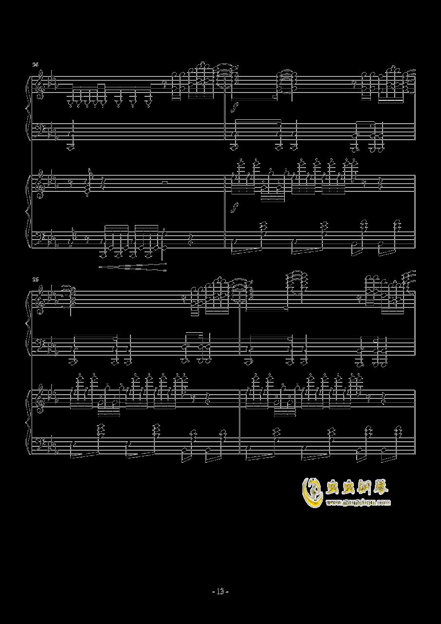 Hawaii Five钢琴谱 第13页