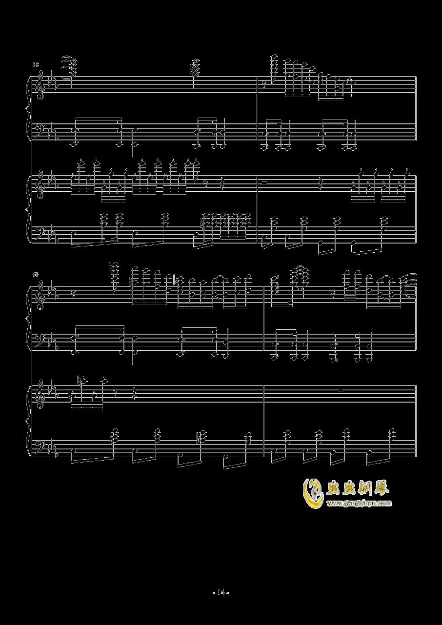Hawaii Five钢琴谱 第14页
