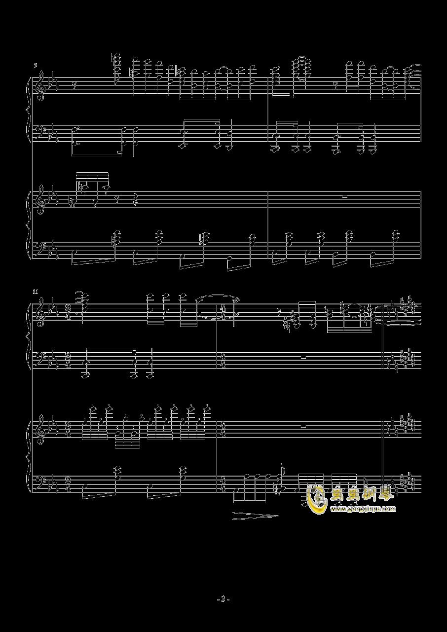 Hawaii Five钢琴谱 第3页