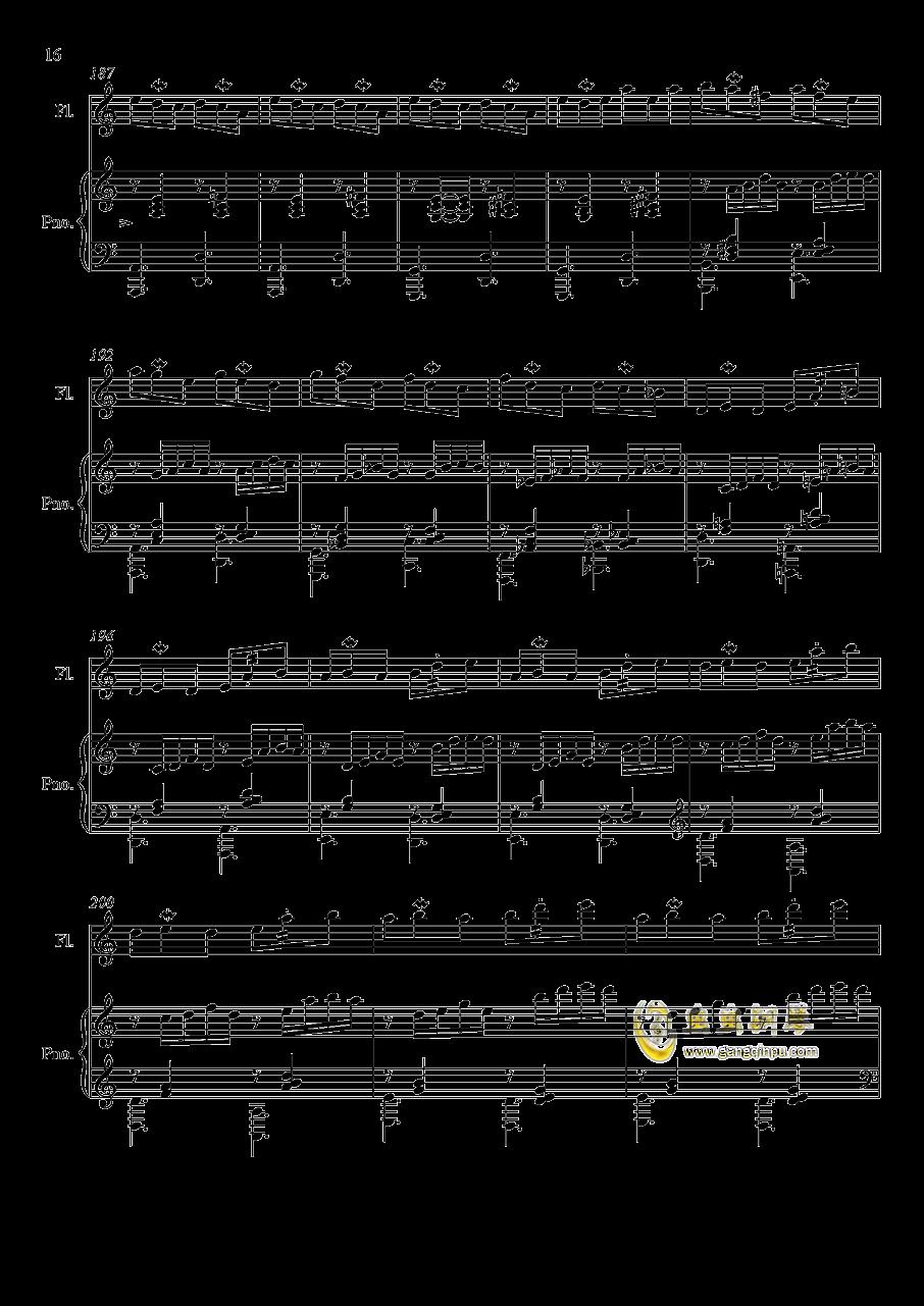 即兴曲3钢琴谱 第16页