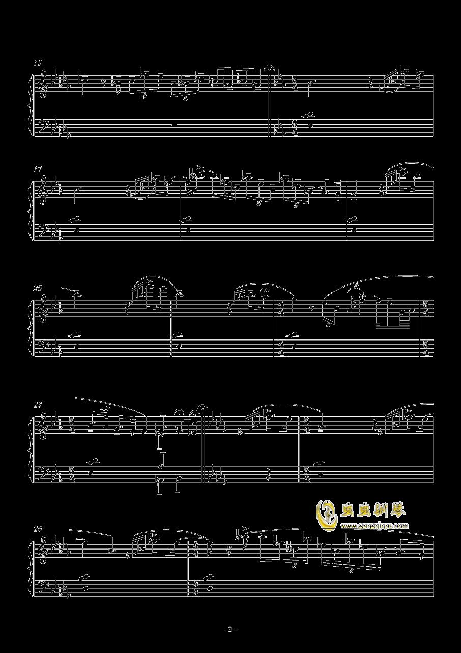 咏叹调钢琴谱 第3页