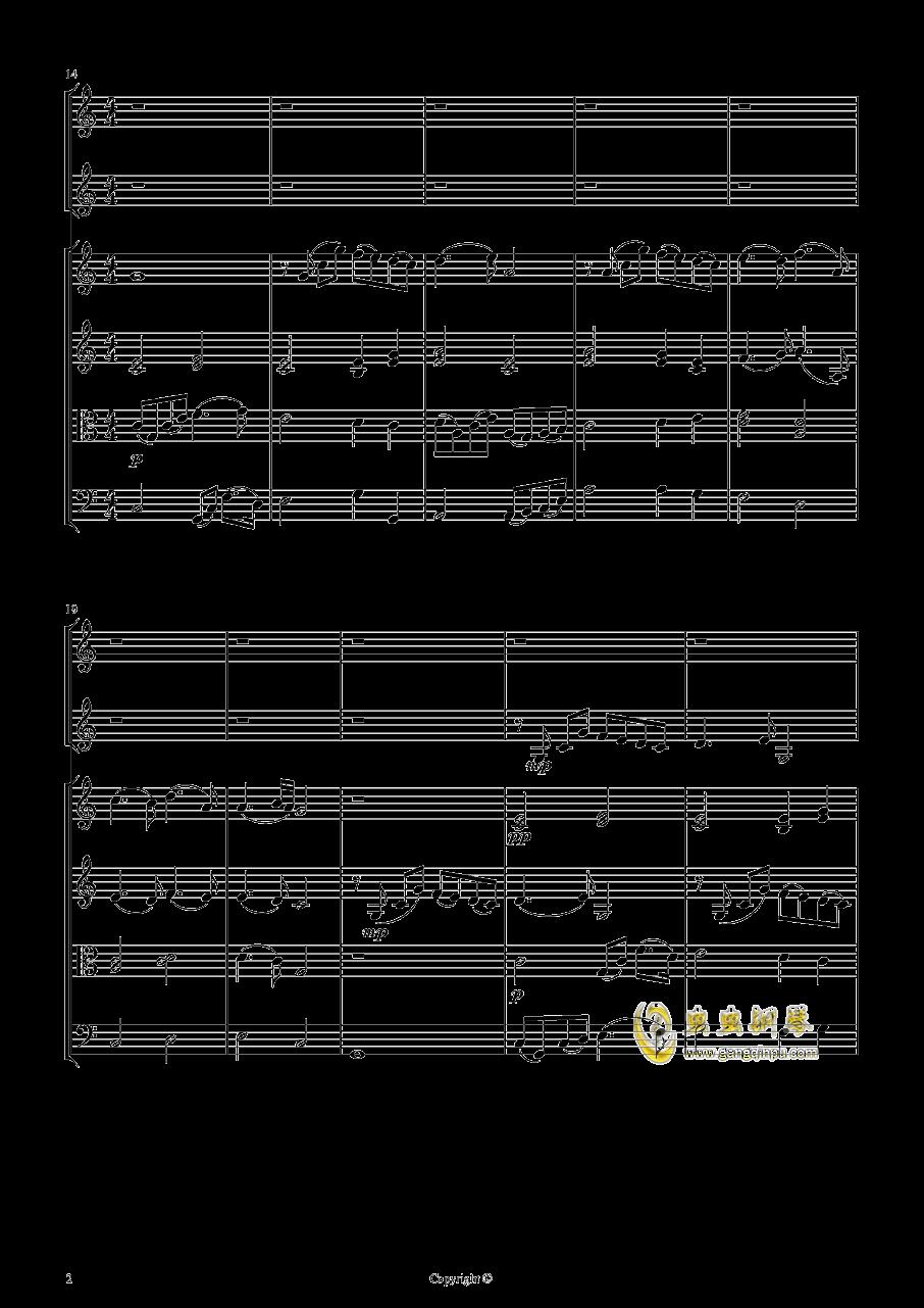 即兴曲2钢琴谱 第2页
