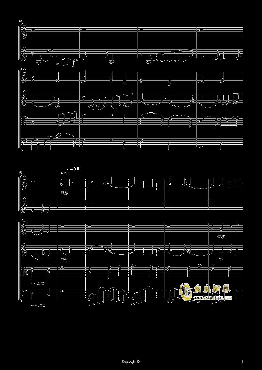 即兴曲2钢琴谱 第3页