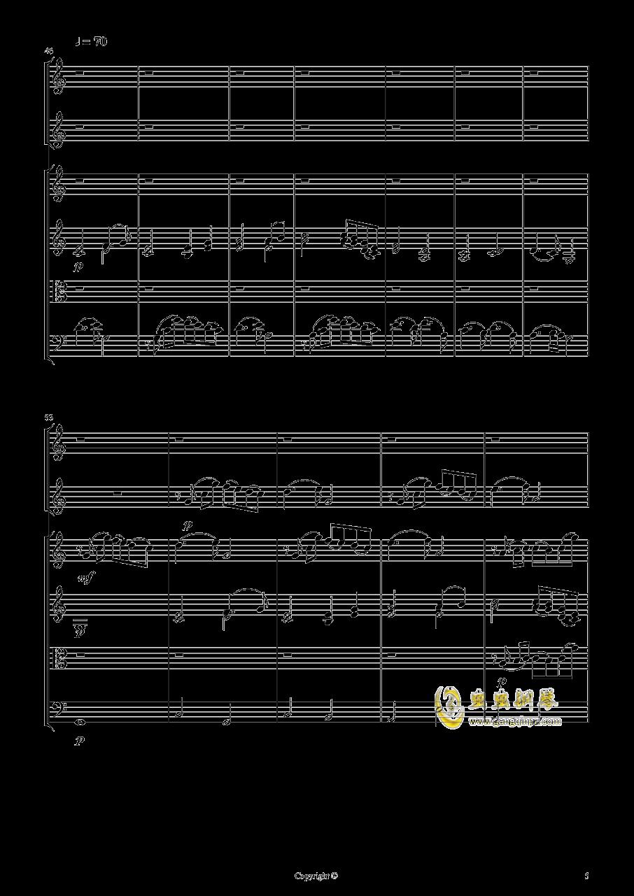 即兴曲2钢琴谱 第5页