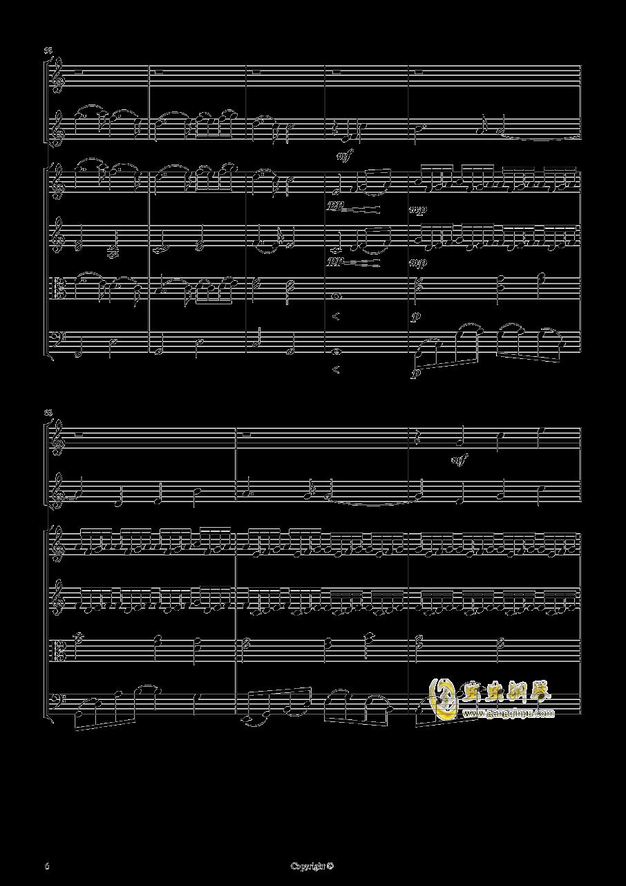 即兴曲2钢琴谱 第6页
