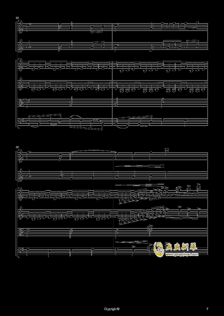 即兴曲2钢琴谱 第7页