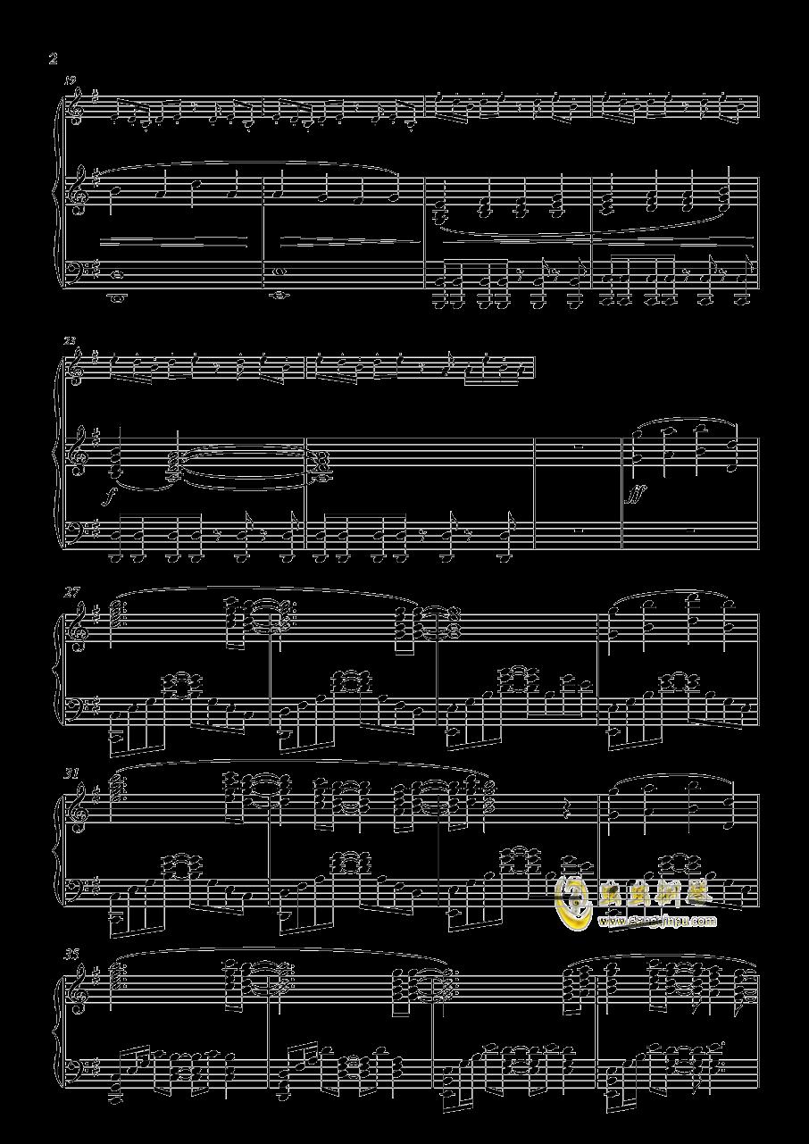 Audrey钢琴谱 第2页