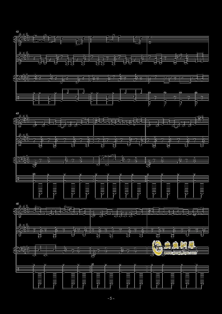 Monody,Monody钢琴谱,Monody钢琴谱网,Monody钢琴谱大全,虫