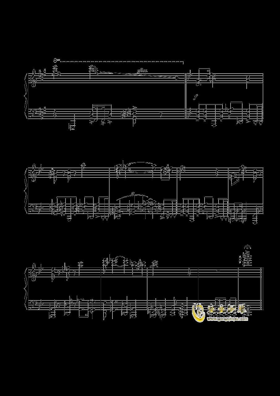 某影视配乐钢琴谱 第3页