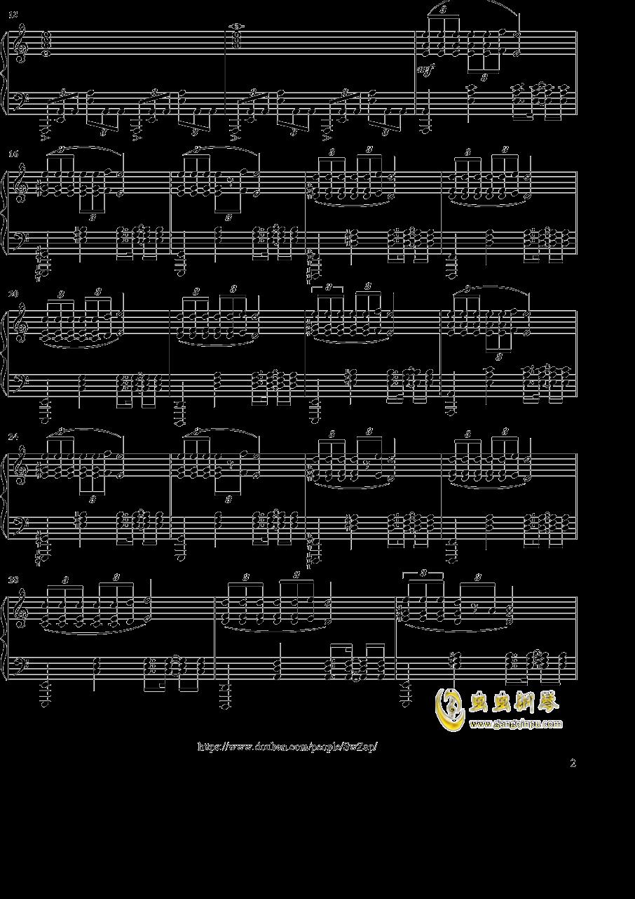 踊る赤ちゃん人間钢琴谱 第2页