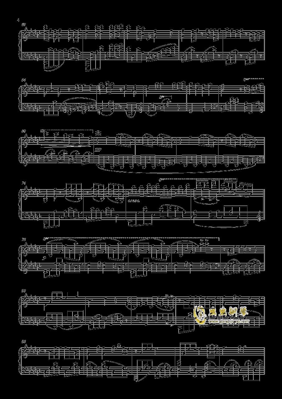 ロミオとシンデレラ钢琴谱 第4页
