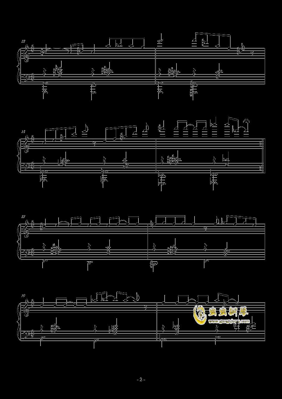 走火入魔钢琴谱 第2页