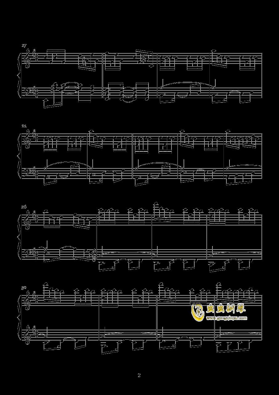 1S钢琴谱 第2页