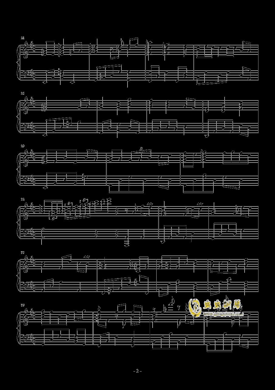 迷途的小鹿钢琴谱 第2页