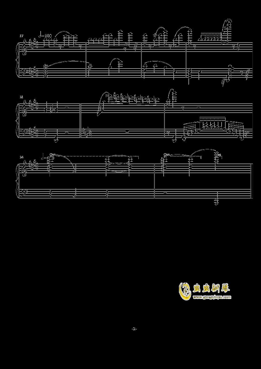 随兴钢琴谱 第2页