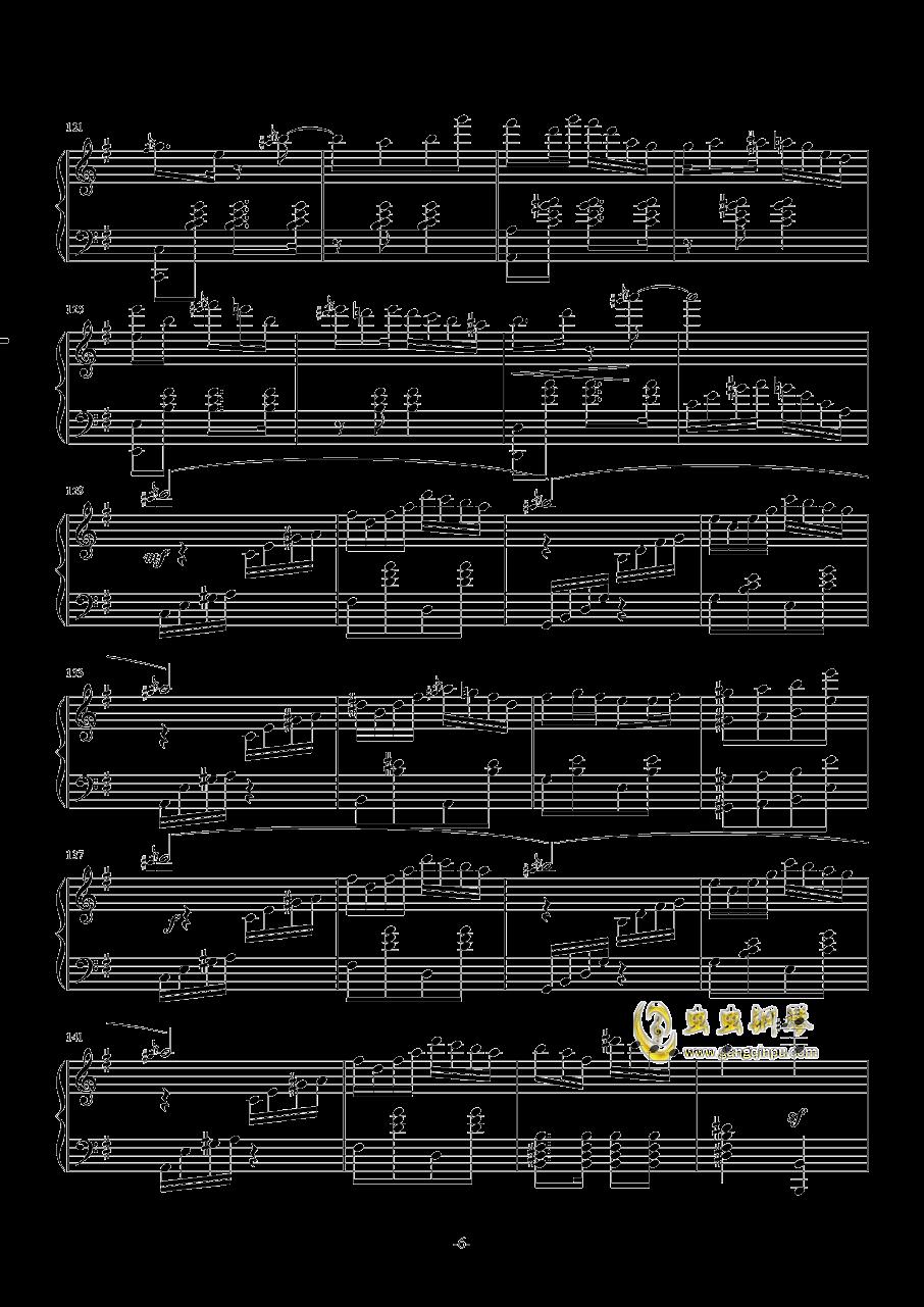 Ineffabilis钢琴谱 第6页
