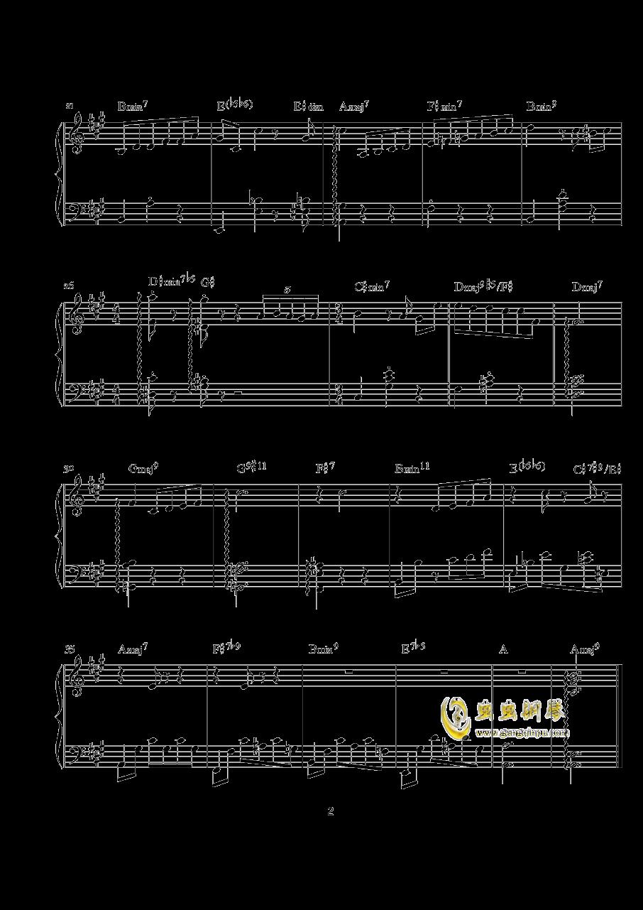 纸花易折钢琴谱 第2页