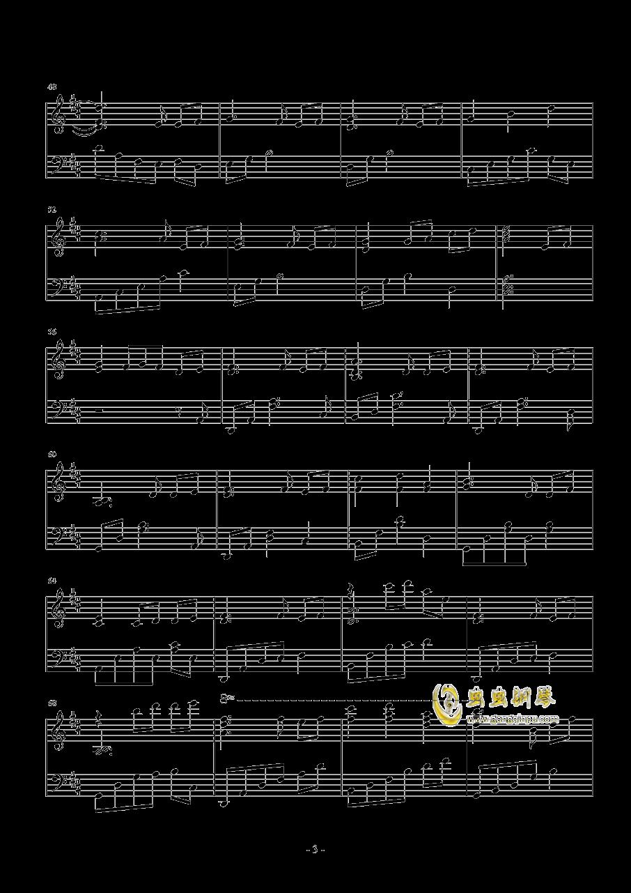 �l思钢琴谱 第3页
