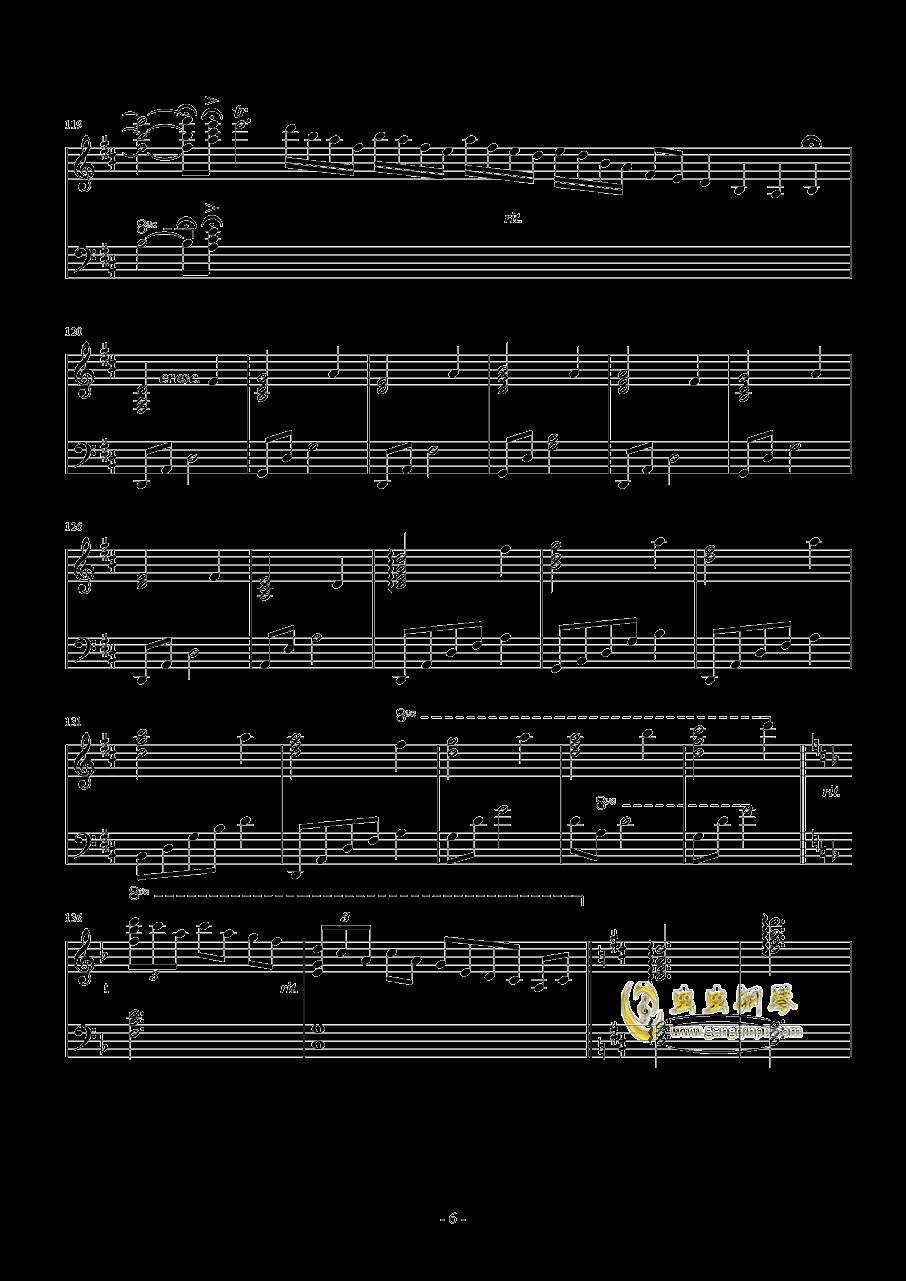 �l思钢琴谱 第6页
