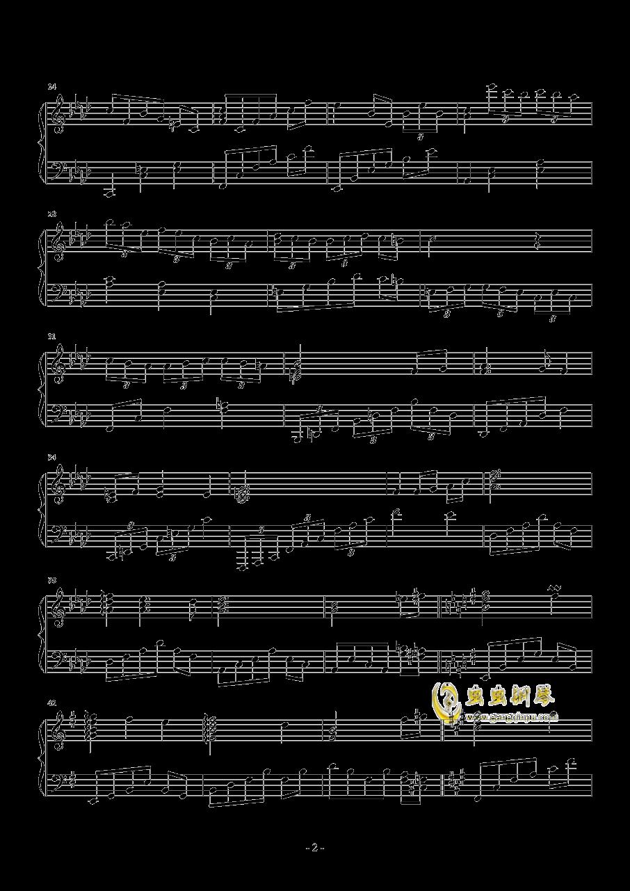 ��C的暗黑物�Z钢琴谱 第2页