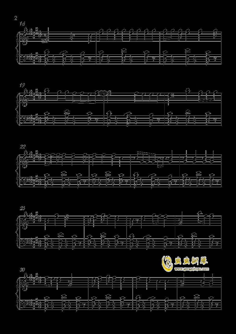 Shape Of You钢琴谱 第2页