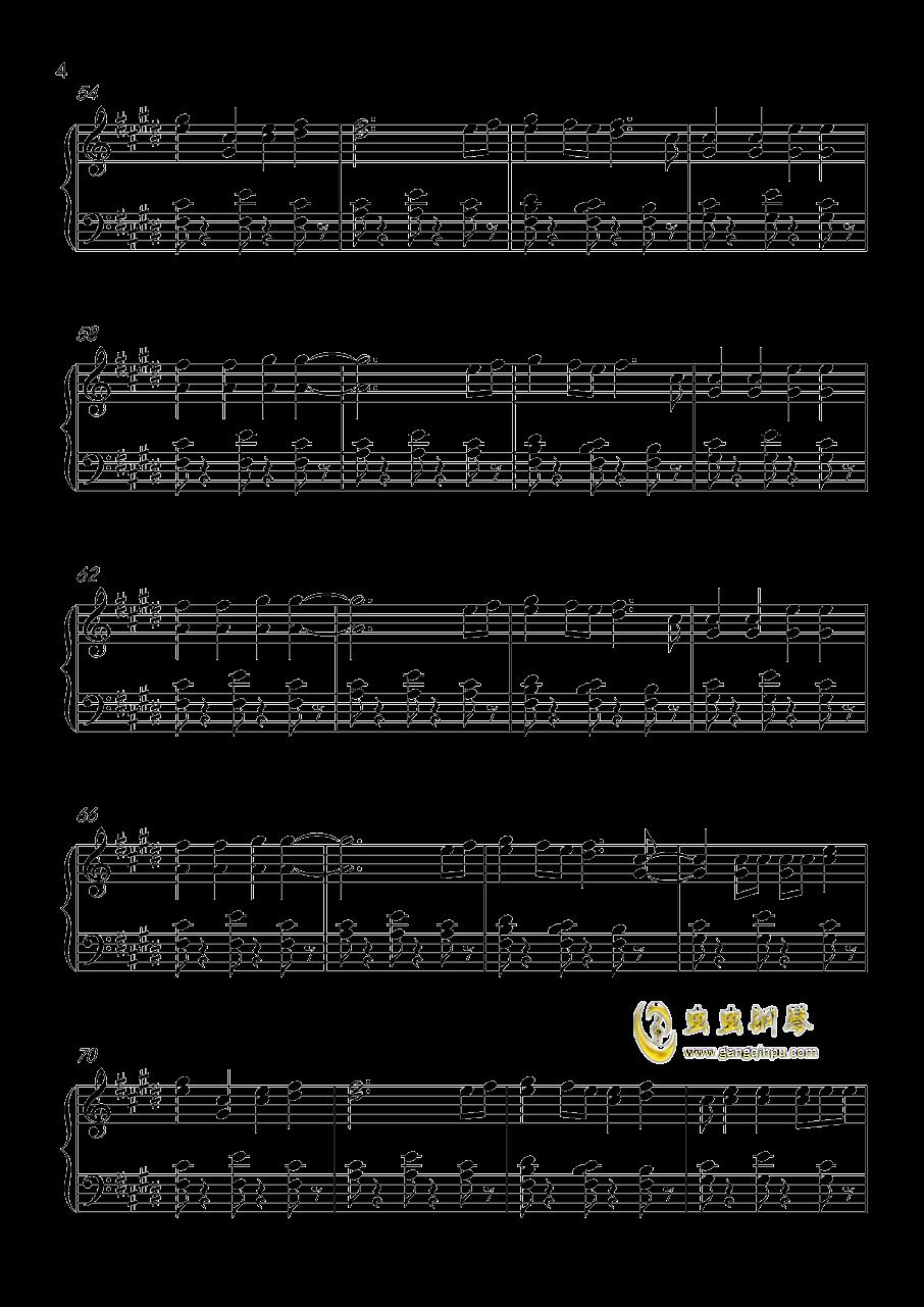 Shape Of You钢琴谱 第4页