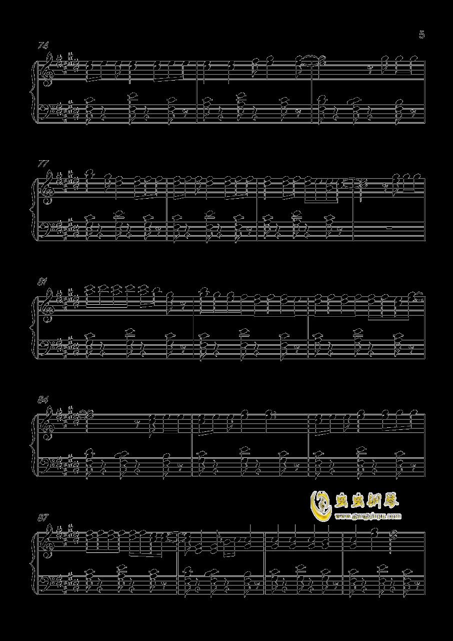 Shape Of You钢琴谱 第5页