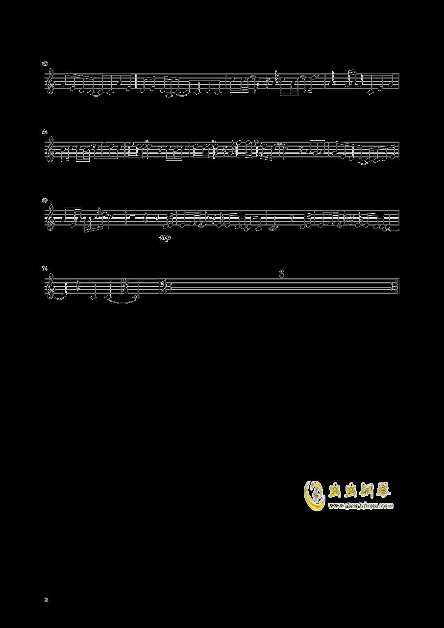 即兴曲钢琴谱 第2页