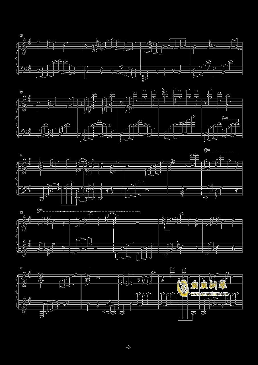 Truth钢琴谱 第3页
