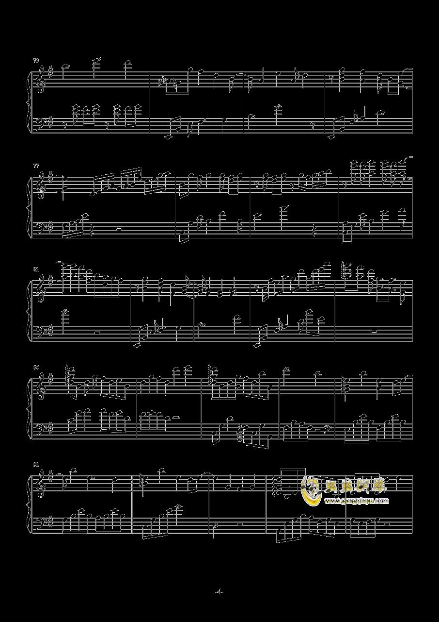 Truth钢琴谱 第4页