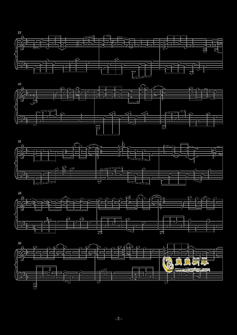 小幸运VS那些年完美串烧钢琴谱 第2页