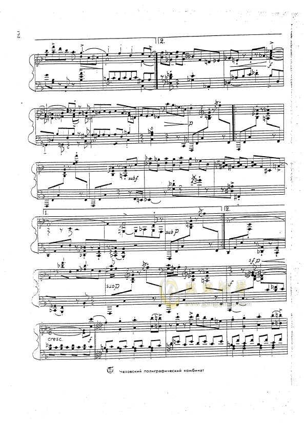 Op.59  No.1钢琴谱 第3页