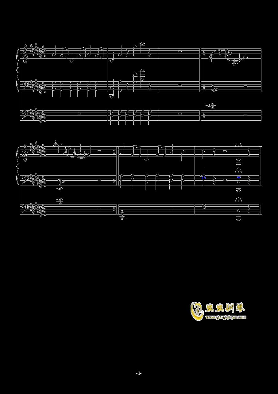 故事钢琴谱 第2页