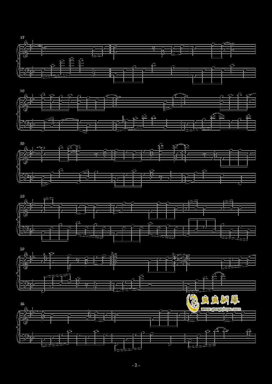 你好不好钢琴谱 第2页