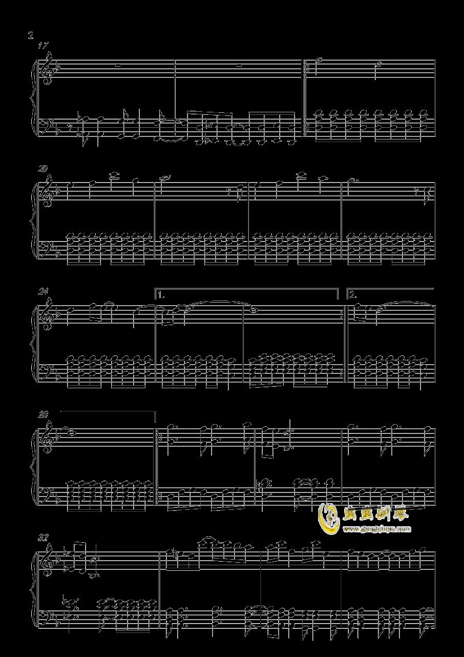 Amaranth钢琴谱 第2页
