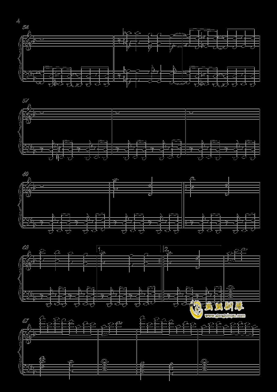 Amaranth钢琴谱 第4页