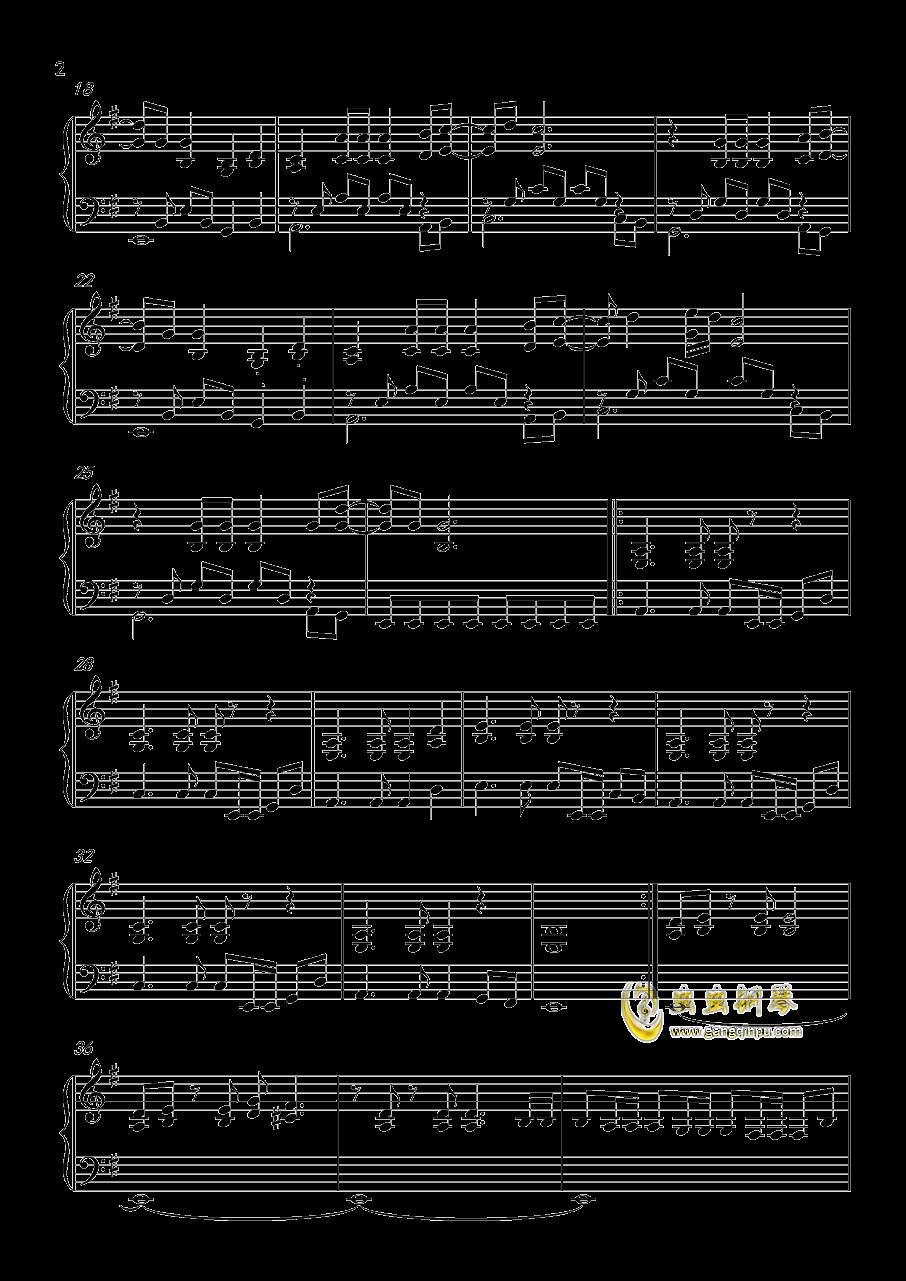 FADE  TO  BLACK钢琴谱 第2页