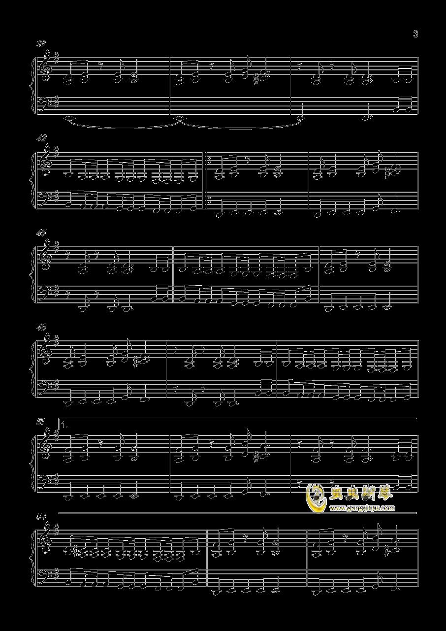 FADE  TO  BLACK钢琴谱 第3页