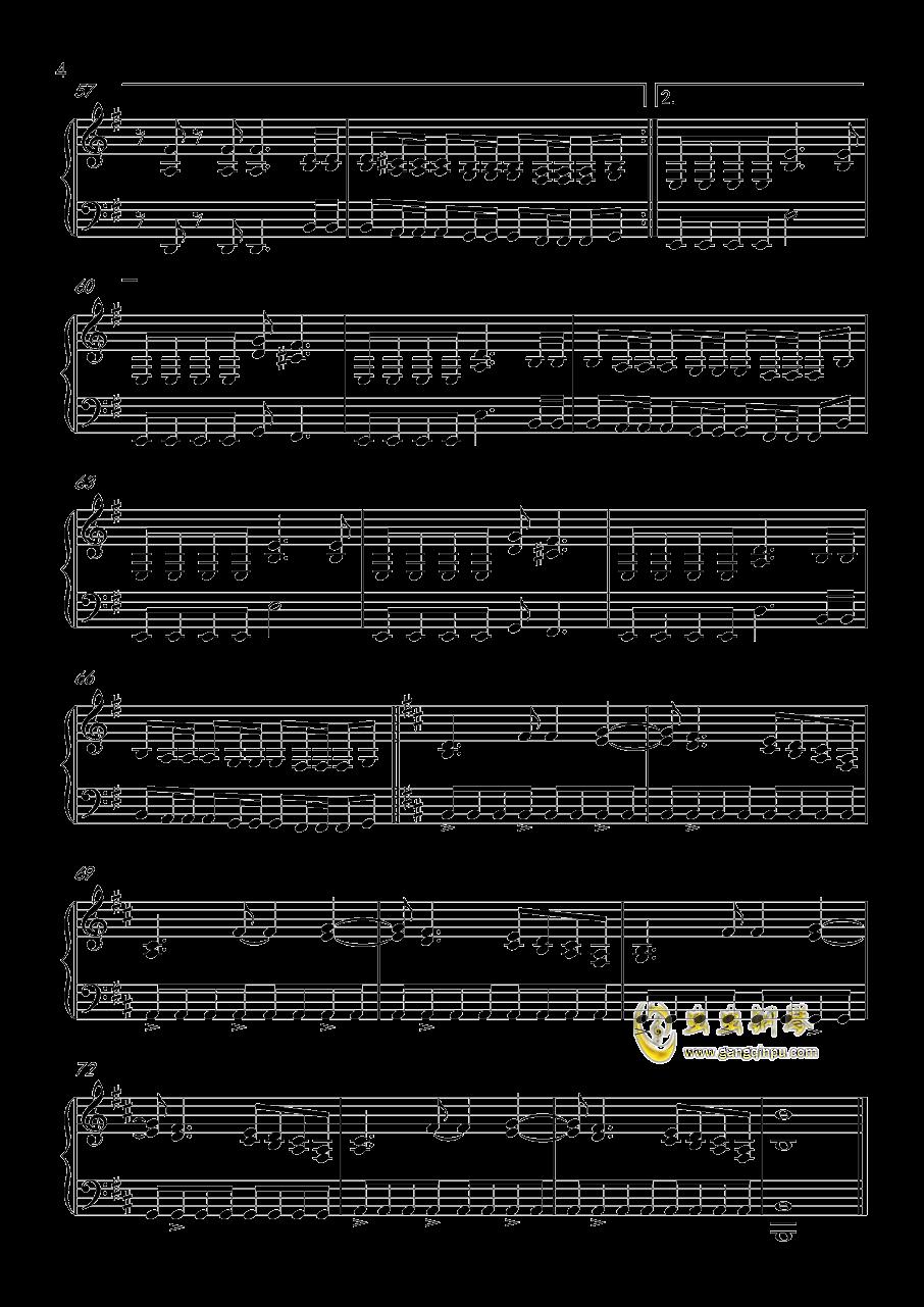 FADE  TO  BLACK钢琴谱 第4页